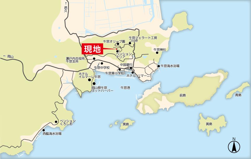 140623牛窓MAP