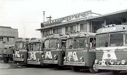 観光バス 1950年代2